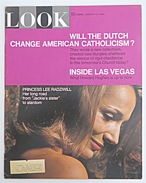 Look Magazine January 23, 1968 Princess Lee Radziwill
