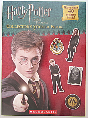 Harry Potter & The Order Of The Phoenix Sticker Book