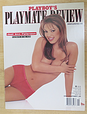 Playboy's Playmate Review September 2000 Jodi Paterson