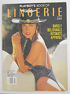 Playboy's Lingerie May/june 1993 Patricia Ford