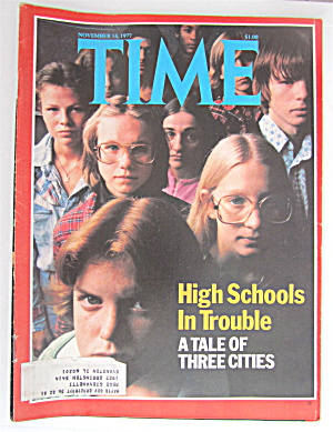 Time Magazine-November 14, 1977-High Schools (Image1)