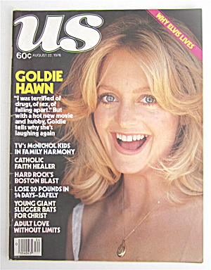 Us Magazine August 22, 1978 Goldie Hawn