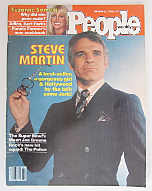 People Magazine January 21, 1980 Steve Martin