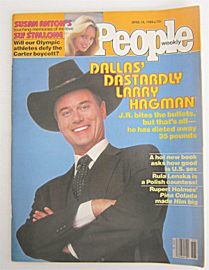 People Magazine April 14, 1980 Larry Hagman