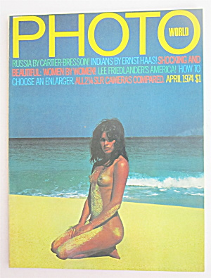 Photo World Magazine April 1974 Russia & Indians