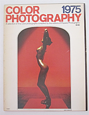 Color Photography Magazine 1975 Color Photographs