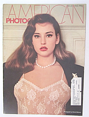 American Photographer Magazine August 1984