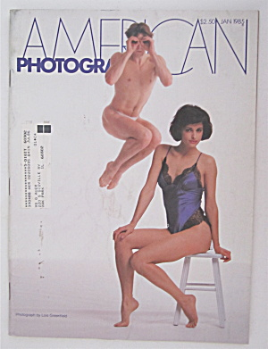 American Photographer Magazine January 1985
