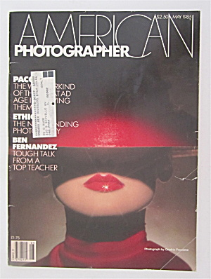 American Photographer Magazine May 1985