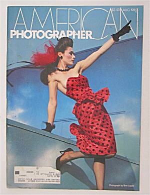 American Photographer Magazine August 1985