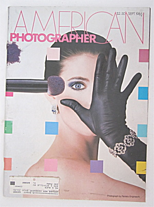 American Photographer Magazine September 1985