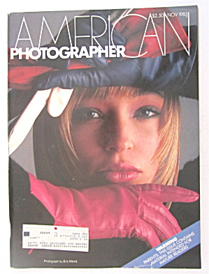 American Photographer Magazine November 1985