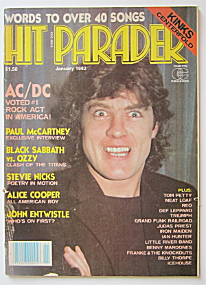 Hit Parader Magazine January 1982 Kinks