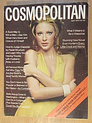 Cosmopolitan Magazine January 1973 Raquel Welch