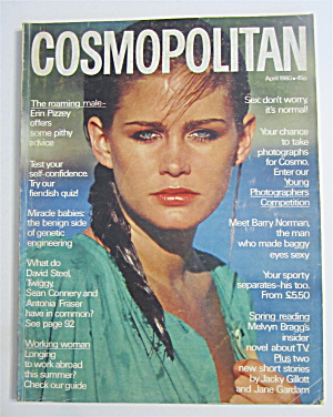 Cosmopolitan Magazine April 1980 Tatum O'neal