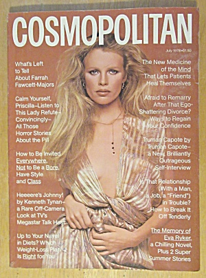 Cosmopolitan Magazine July 1978 Kim Basinger  (Image1)