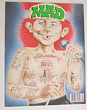 Mad Magazine April 1992 What, Me Worry?