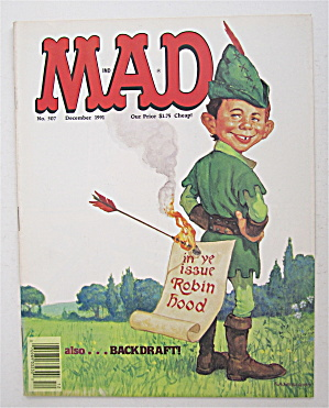 Mad Magazine December 1991 Robin Hood