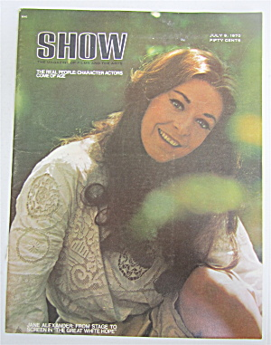 Show Magazine July 9, 1970 Jane Alexander