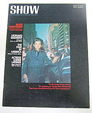 Show Magazine September 3, 1970 Jackie Harassed