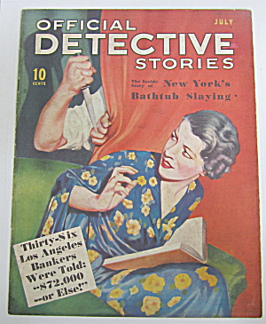 Official Detective Stories Magazine July 1936