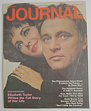 Journal Magazine November 1965 Elizabeth Taylor