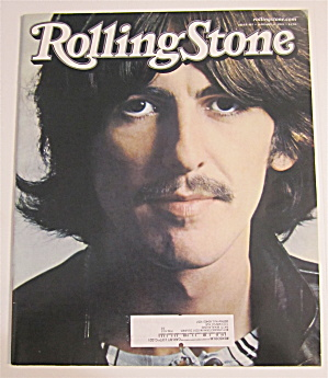 Rolling Stone January 17, 2002 George Harrison