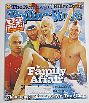 Rolling Stone January 31, 2002 No Doubt