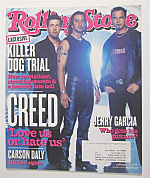 Rolling Stone February 28, 2002 Creed