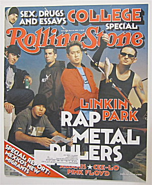 Rolling Stone March 14, 2002 Linkin Park