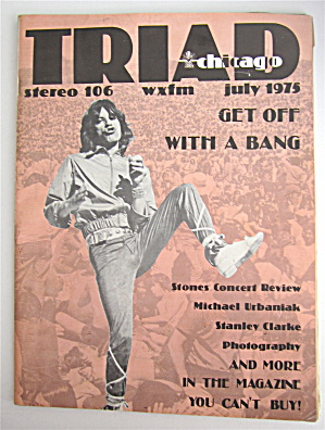 Triad Magazine July 1975 Stones Concert Review
