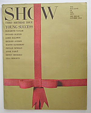 Show Magazine October 1964 3rd Birthday Issue