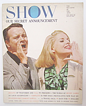 Show Magazine August 1964 Jack Lemmon