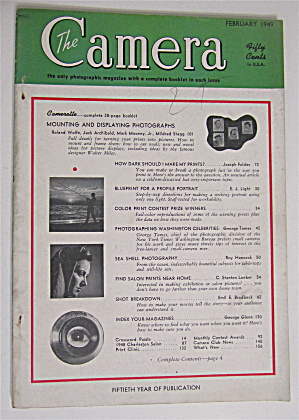 Camera Magazine February 1949 Mount & Display Photos