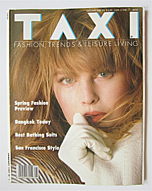Taxi Magazine January 1987 Bangkok Today
