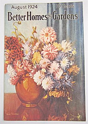 Better Homes & Gardens August 1924 (Image1)