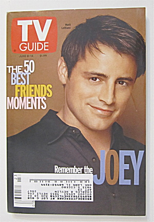 Tv Guide June 8-14, 2002 Remember The Joey