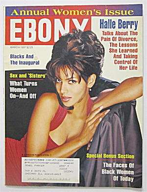 Ebony Magazine March 1997 Halle Berry
