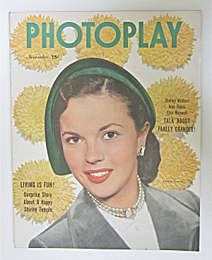 Photoplay Magazine November 1950 Shirley Temple