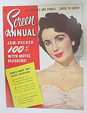 Screen Annual Magazine 1951 Elizabeth Taylor (Image1)