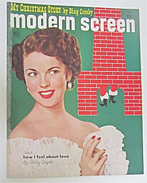 Modern Screen Magazine January 1951 Shirley Temple (Image1)