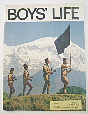 Boys Life Magazine May 1971 Scouting In Nepal