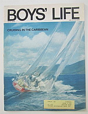 Boys Life Magazine June 1971 Cruising In The Caribbean