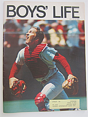 Boys Life Magazine July 1971 Johnny Bench