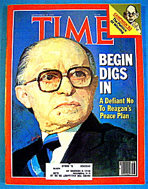 Time Magazine-september 20, 1982-begin Digs In
