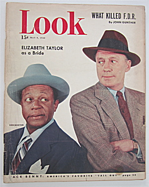 Look Magazine May 9, 1950 Jack Benny & Rochester