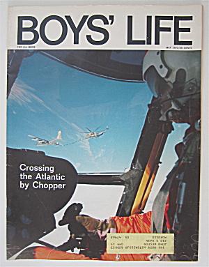 Boys Life Magazine May 1972 Crossing The Atlantic  (Image1)