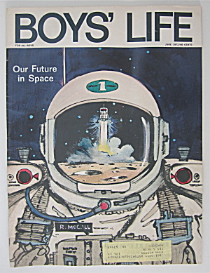 Boys Life Magazine June 1972 Our Future In Space