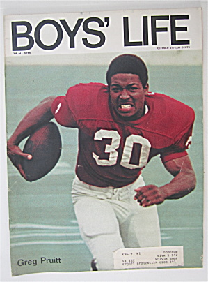 Boys Life Magazine October 1972 Greg Pruitt