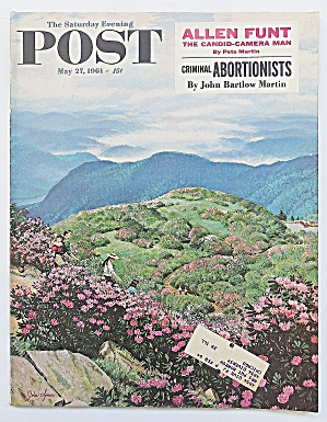 Saturday Evening Post May 27, 1961 Allen Funt